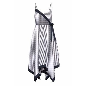 NWT Banana Republic 2 Handkerchief Striped Dress
